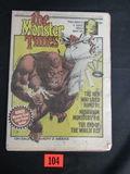 Monster Times Magazine #1/1972