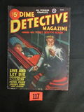 Dime Detective Mag. Pulp March 1947
