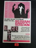 Scream Baby Scream (1969) Pressbook