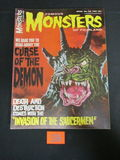 Famous Monsters Magazine #38/1966