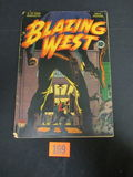 Blazing West #6/1949 Classic Cover!