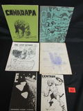 Group Of Fanzines/above Ground Comics