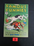 Famous Funnies #76/1940/buck Rogers