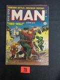 Man Comics #23/1952 Marvel/atlas War