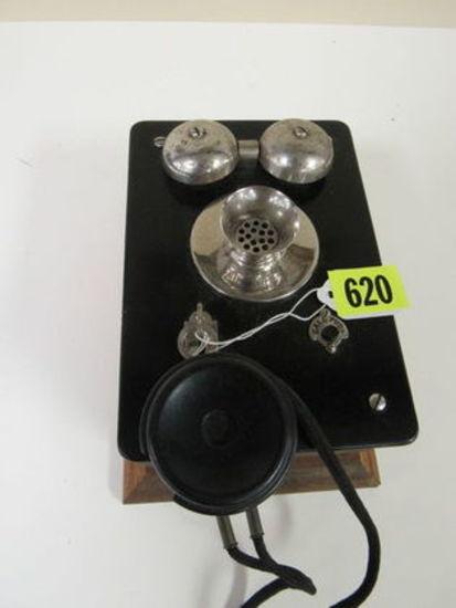 Antique Oak Samson Telephone / Call Box