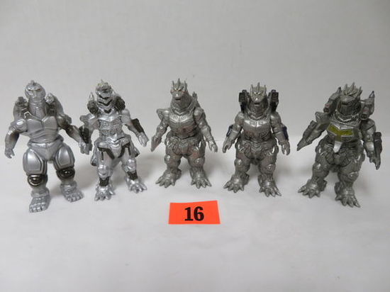Mecha-godzilla Group Of (5) Figures