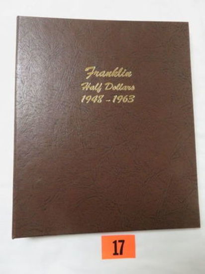 US Franklin Half Dollar Coin Book Set