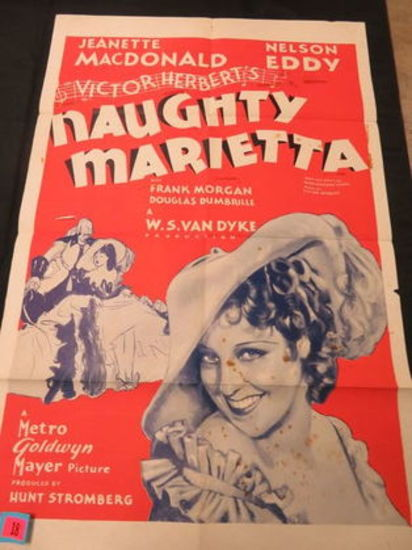 Naughty Marietta Original 1-sheet