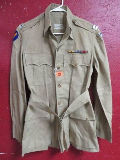 WWII CBI AAF Tailor Made Brush Jacket