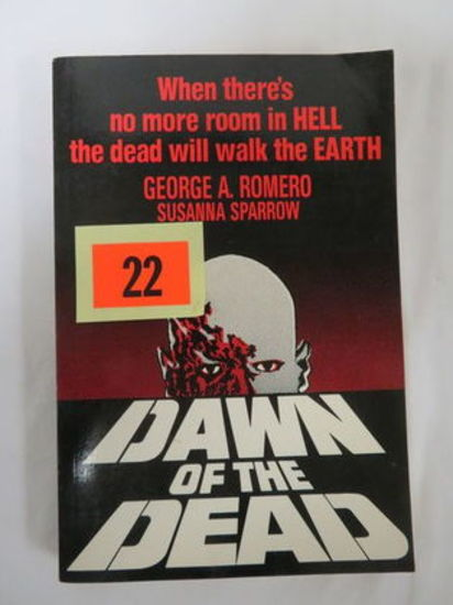 Rare (1978) Dawn Of The Dead Paperback