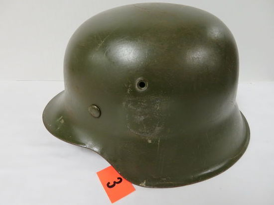 WWII Nazi German Helmet with Liner