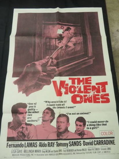 The Violent Ones 1967 Original 1-sheet