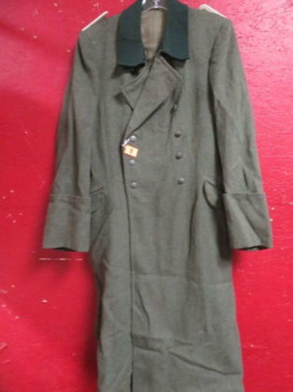 WWII German Officer's Style Winter Coat