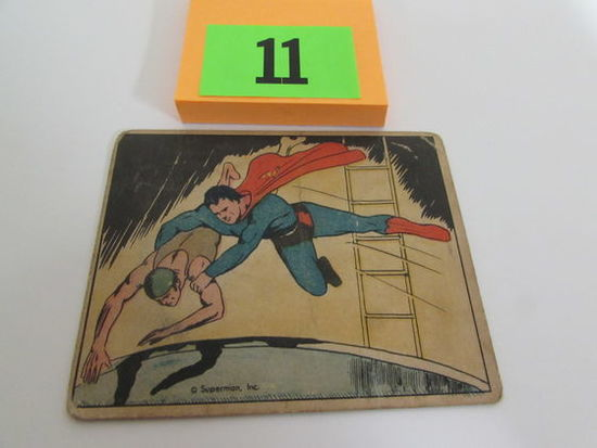 Rare 1940 Gum Inc. Superman Card #29