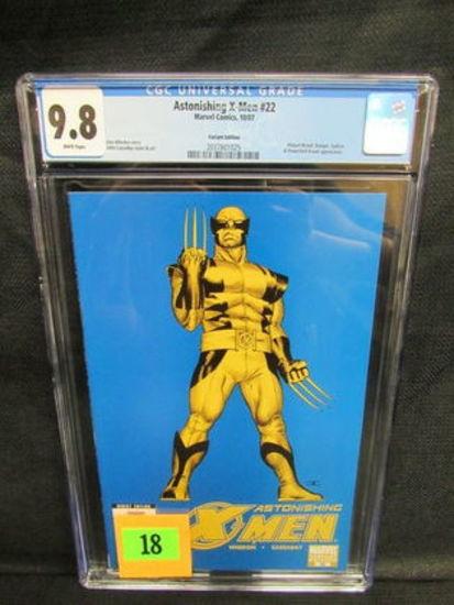 Astonishing X-men #22 (2007) Variant / Wolverine Cover Cgc 9.8