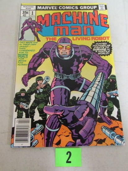 Machine Man #1 (1978) Marvel Bronze Age Key 1st Issue