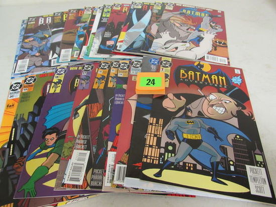 Lot (24) Diff. Batman Adventures Comics #1-36