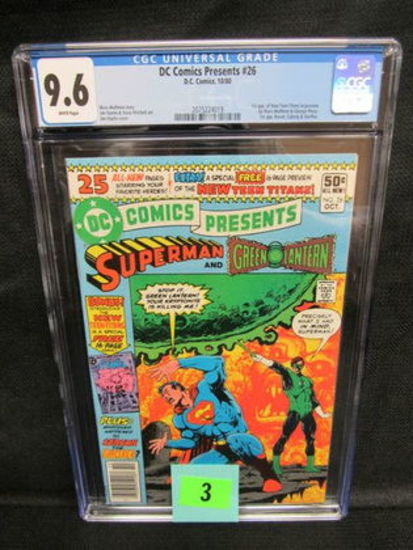Dc Comics Presents #26 (1980) Key 1st Appearance New Teen Titans Cgc 9.6