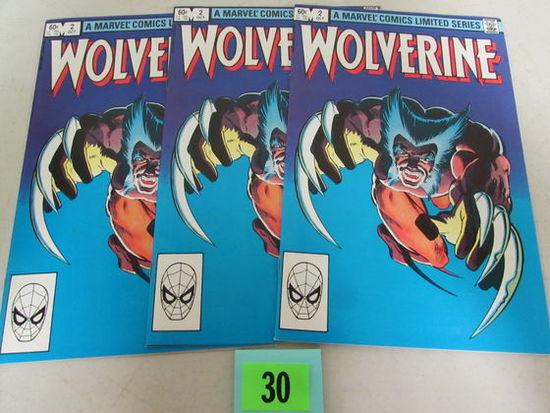 (3) Wolverine #2 (1982) Limted Series