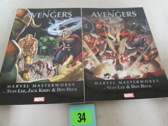 Marvel Masterworks The Avengers Vol. 1 & 2 Tpb's
