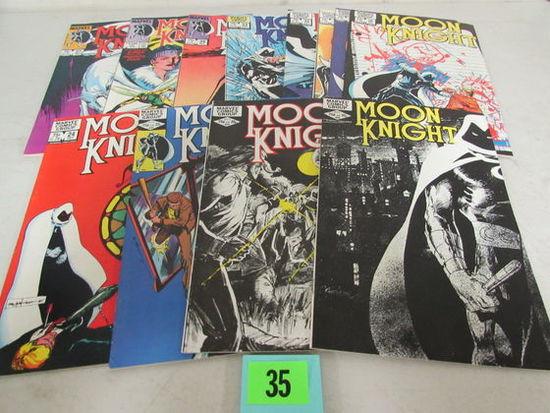 Moon Knight Bronze Age Marvel Lot (12)
