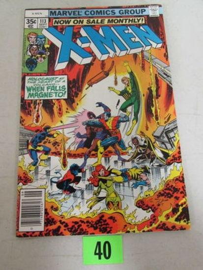 X-men #113 (1978) Bronze Age Magneto/ Colossus Cover