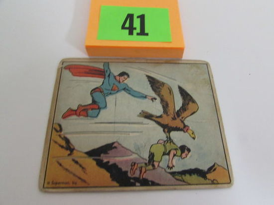 Rare 1940 Gum Inc. Superman Card #43