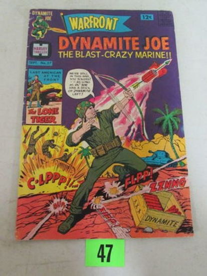 Warfront #37 (1968) Silver Age Harvey/ Dynamite Joe