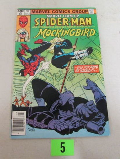 Marvel Team-up #95 (1980) Key 1st Appearance Mockingbird