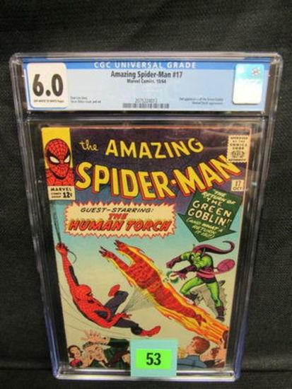 Amazing Spider-man #17 (1964) Key 2nd Appearance Green Goblin Cgc 6.0
