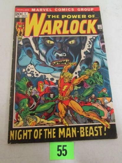 Warlock #1 (1972) Bronze Age Marvel Key/ 1st Issue
