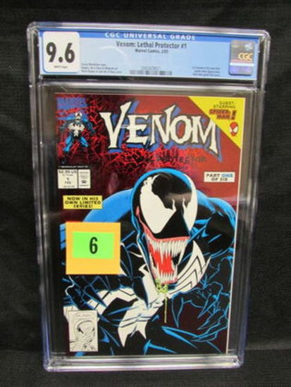 Venom: Lethal Protector #1 (1993) Key 1st Solo Title Cgc 9.6
