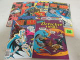 Batman Bronze Age Lot 285, 298, 322, 339, 365+ Detective 454