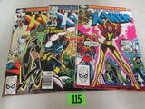 X-men #144, 145, 157 Bronze Age Lot