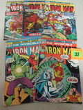 Iron Man Bronze Age Lot #75, 76, 77, 83, 84