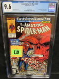 Amazing Spiderman #325 (1989) Classic Mcfarlane/ Red Skull Cover Cgc 9.6