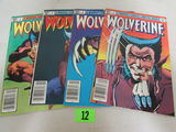 Wolverine #1, 2, 3, 4 (1982) Limited Series Complete Run