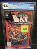 Batman: Shadow Of The Bat #1 (1992) Key 1st Victor Zsasz Cgc 9.6