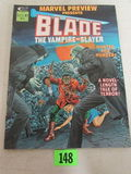 Marvel Preview #3 (1975) Obscure/ Early Blade Appearance