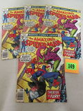 Lot (4) Amazing Spider-man #179 (1978) High Grade Bronze/ Green Goblin