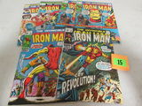 Iron Man Late Silver/ Early Bronze Lot (6)