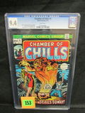 Chamber Of Chills #5 (1973) Marvel Bronze Age Horror Cgc 9.4