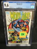 Wolverine #110 (1997) Adam Kubert Cover Cgc 9.6