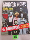 Monster World #2 (1965) Warren Pub/ Classic Munsters Cover