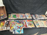 Short Box (approx. 125+) Web-of Spiderman, Action Comics, X-men+