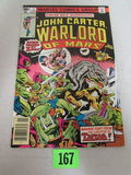 John Carter Warlord Of Mars #1 (1977) Bronze Age Key 1st Issue