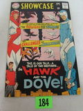 Showcase #75 (1968) 1st Appearance Hawk & Dove High Grade