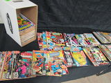 Short Box (approx. 125+) Mostly Bronze/ Copper Age Marvel & Dc
