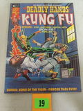 Deadly Hands Of Kung Fu #10 (1975) Early Iron Fist