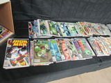 Short Box (approx. 125+) Green Lantern, Justice League, Iron Man+